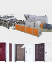 WPC borad production line